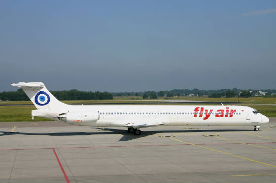 Fly air   MD83  tcflo  09-07-05
