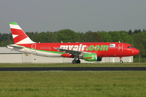 My Air / LTE  A320   ecjhj  10-05-06