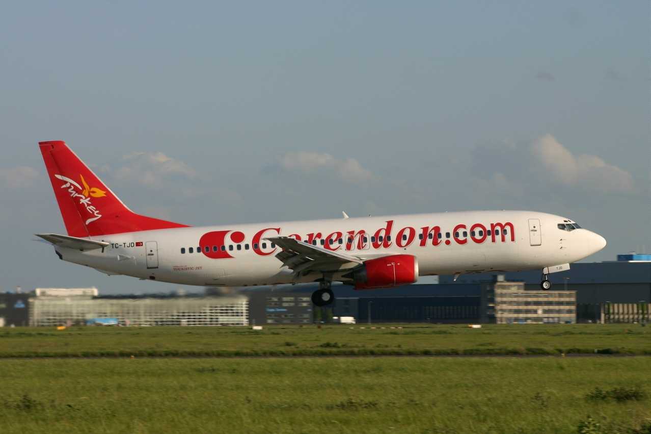 Corendon  B737  tc tjd  18-05-06