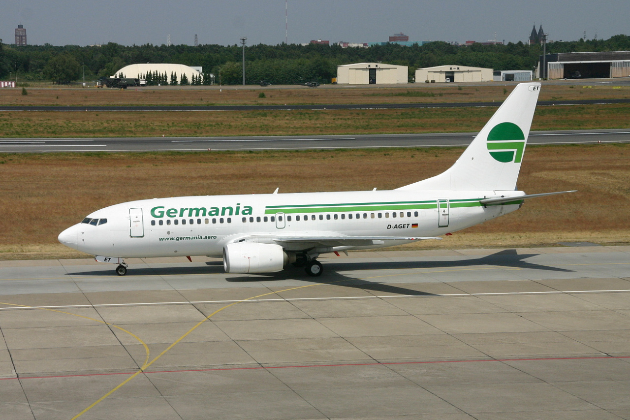 Germania  B737  d aget  31-05-08