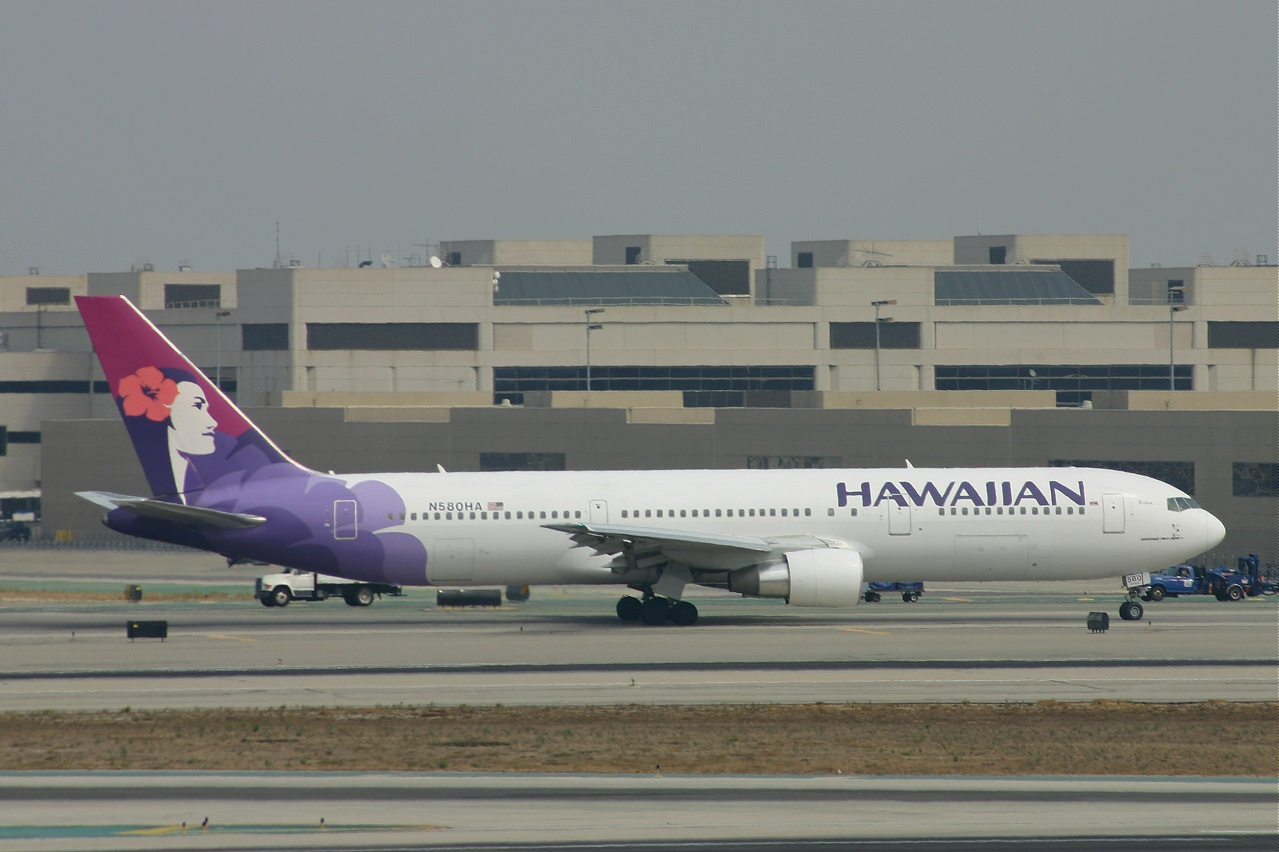 Hawaiian  B767  N580ha 18-09-05