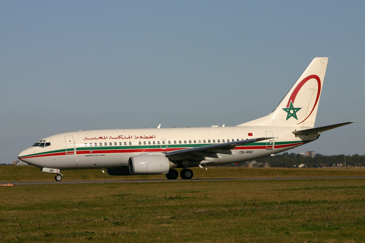 Royal air Maroc  B737  cn rnv  10-10-04
