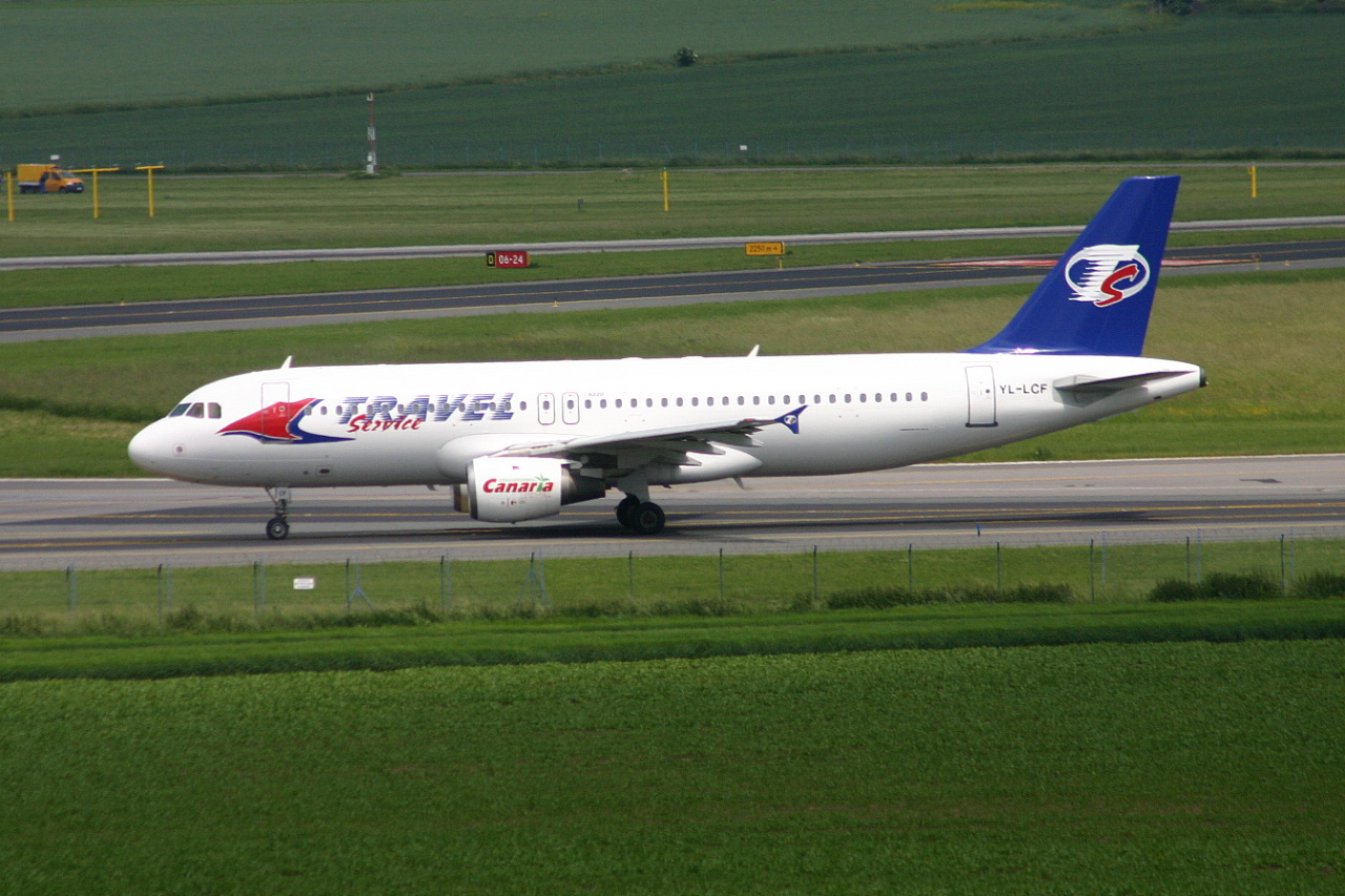 Travelservice  A320  yl lcf  05-06-08